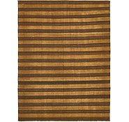 Link to 8' 10 x 11' 10 Striped Modern Kilim Rug