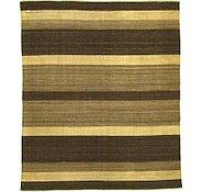 Link to 8' 2 x 9' 6 Striped Modern Kilim Rug