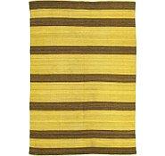 Link to 5' 11 x 8' 6 Striped Modern Kilim Rug