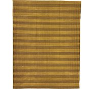 Link to 9' 1 x 11' 10 Striped Modern Kilim Rug