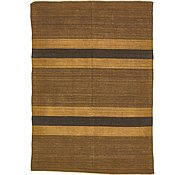 Link to 6' x 8' 6 Striped Modern Kilim Rug
