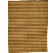 Link to 9' x 11' 9 Striped Modern Kilim Rug