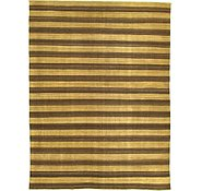 Link to 9' x 11' 10 Striped Modern Kilim Rug