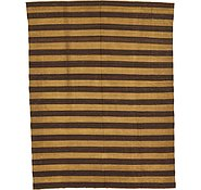 Link to 8' 11 x 11' 7 Striped Modern Kilim Rug