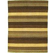 Link to 5' 3 x 6' 10 Striped Modern Kilim Rug