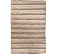 Link to 4' x 6' 1 Loribaft Gabbeh Oriental Rug