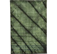 Link to 4' 1 x 6' Loribaft Gabbeh Oriental Rug