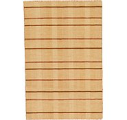 Link to 3' 10 x 5' 10 Loribaft Gabbeh Oriental Rug