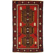 Link to 3' 6 x 5' 11 Balouch Persian Rug