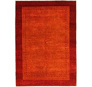 Link to 5' 7 x 8' Loribaft Gabbeh Oriental Rug