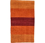 Link to 3' x 5' 4 Loribaft Gabbeh Oriental Rug