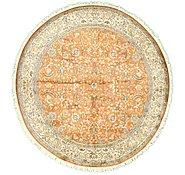 Link to 6' x 6' Kashmir Oriental Round Rug