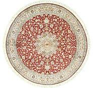 Link to 6' 10 x 6' 10 Kashmir Oriental Round Rug