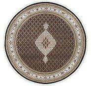 Link to 8' 1 x 8' 1 Tabriz Oriental Round Rug