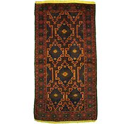 Link to 3' 7 x 6' 9 Balouch Persian Rug