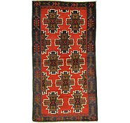 Link to 3' 7 x 6' 7 Balouch Persian Rug