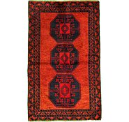 Link to 3' 8 x 5' 10 Balouch Persian Rug