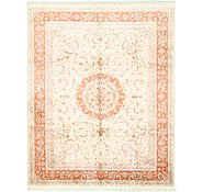 Link to 8' x 10' Qom Persian Rug