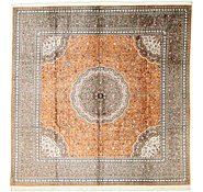Link to 9' 8 x 9' 8 Qom Persian Square Rug