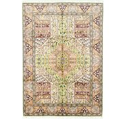 Link to 8' x 11' 4 Qom Persian Rug