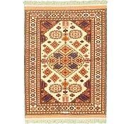 Link to 4' x 5' 7 Torkaman Persian Rug
