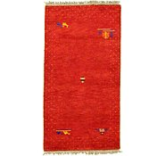 Link to 2' 10 x 5' 5 Indo Gabbeh Rug