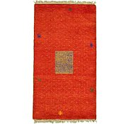 Link to 3' x 5' 7 Indo Gabbeh Rug