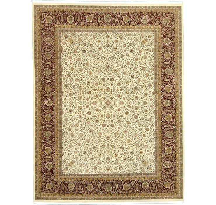 9' 2 x 12' Tabriz Persian Rug