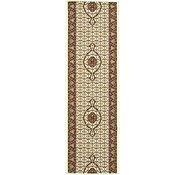 Link to 2' 6 x 8' Tabriz Design Runner Rug