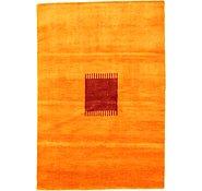 Link to 4' 1 x 5' 11 Loribaft Gabbeh Oriental Rug