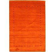 Link to 4' 2 x 5' 10 Loribaft Gabbeh Oriental Rug
