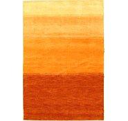 Link to 4' x 5' 11 Loribaft Gabbeh Oriental Rug