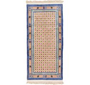 Link to 2' 11 x 6' 3 Antique Finish Runner Rug