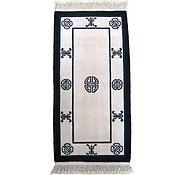 Link to 2' 6 x 5' 2 Antique Finish Rug
