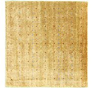 Link to 7' 8 x 8' Loribaft Gabbeh Oriental Square Rug
