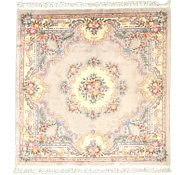 Link to 8' x 8' 3 Carved Pekin Square Rug