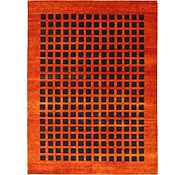 Link to 7' 10 x 10' 5 Loribaft Gabbeh Oriental Rug