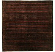 Link to 8' x 8' Loribaft Gabbeh Oriental Square Rug