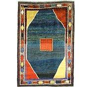 Link to 6' 6 x 9' 9 Shiraz-Gabbeh Persian Rug