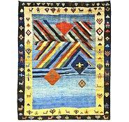 Link to 7' 5 x 9' 7 Shiraz-Gabbeh Persian Rug