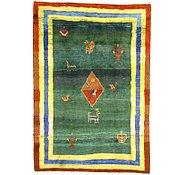 Link to 6' 3 x 9' Shiraz-Gabbeh Persian Rug