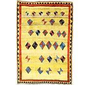 Link to 6' 6 x 9' 6 Shiraz-Gabbeh Persian Rug
