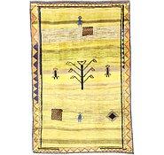 Link to 6' 4 x 9' 7 Shiraz-Gabbeh Persian Rug