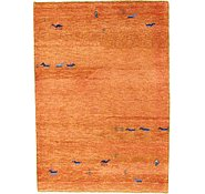 Link to 4' 3 x 5' 11 Indo Gabbeh Rug