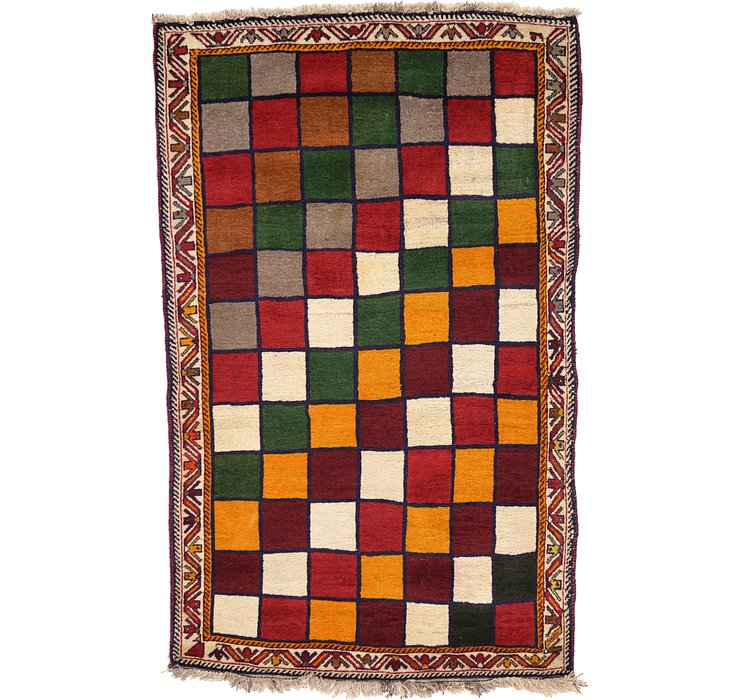 3' 11 x 6' 3 Ghashghaei Persian Rug