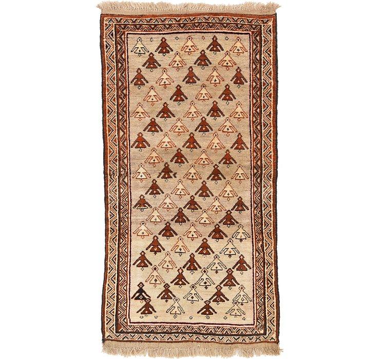 3' 5 x 6' 7 Ghashghaei Persian Rug