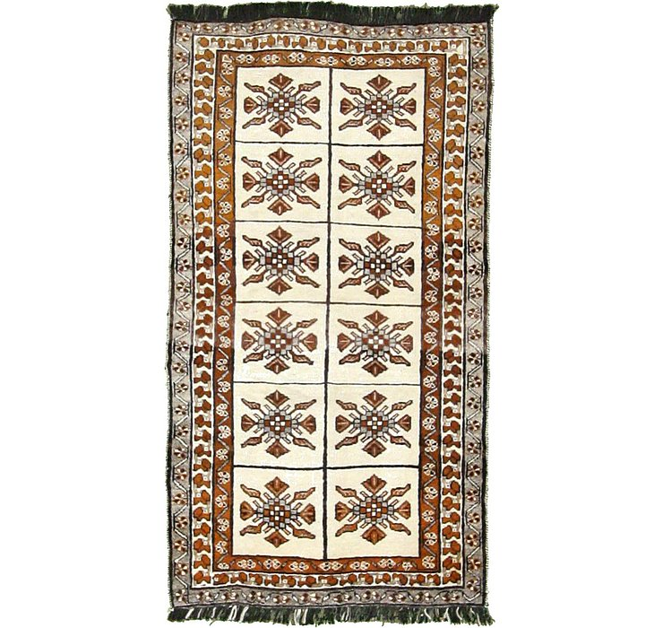 3' 7 x 6' 6 Ghashghaei Persian Rug