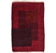 Link to 3' 4 x 5' 1 Loribaft Gabbeh Oriental Rug