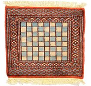 Link to 2' x 2' 1 Bokhara Oriental Square Rug