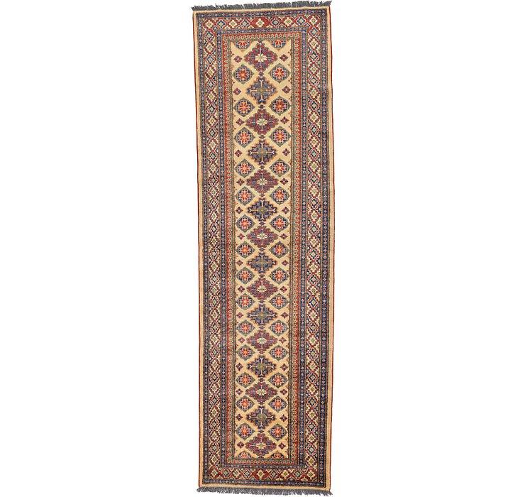2' 10 x 9' 11 Kazak Oriental Runner Rug